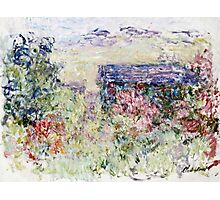 Claude Monet - The House Through The Roses  Photographic Print