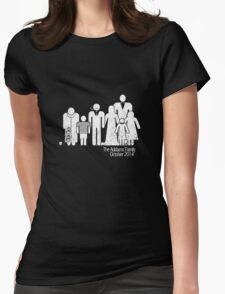 Addams Family Shire 3 Womens Fitted T-Shirt