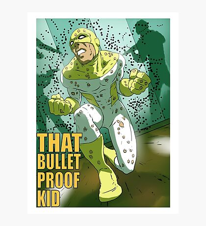That Bulletproof Kid - Holes Photographic Print