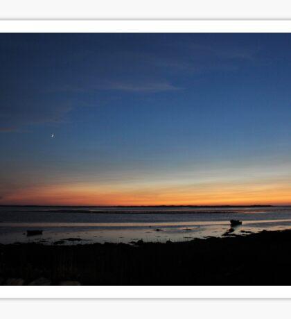 Sunset in Lower Argyle Sticker