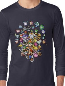 Paper Mario Long Sleeve T-Shirt