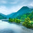 Valley River by Svetlana Sewell