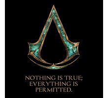 Assassins creed Lexicon mash up Photographic Print