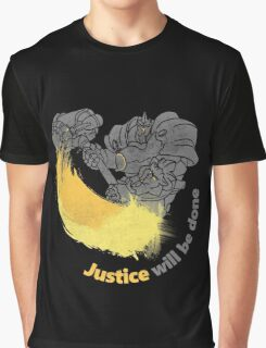 JUSTIVE WILL BE DONE Graphic T-Shirt