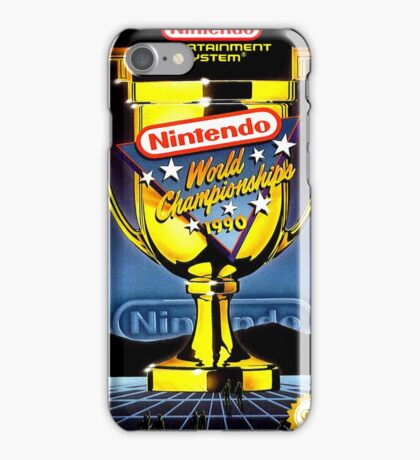 Nintendo World Championships iPhone Case/Skin