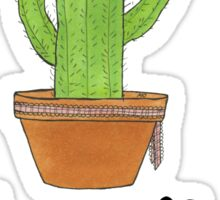 Cute Kawaii Cactus HUG ME [Doodle Copic Color] Kaktus Sticker