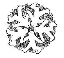 snowflake system Photographic Print