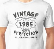 Vintage 1985 Unisex T-Shirt