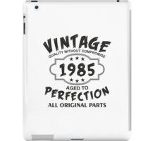 Vintage 1985 iPad Case/Skin