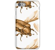 Cetonia Aurata Gold iPhone Case/Skin