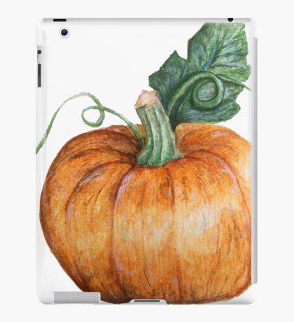 Hallowe'en Pumpkin Spice iPad Case/Skin