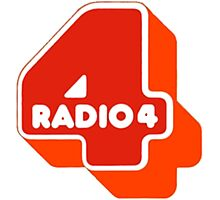 Radio 4 70s logo Photographic Print