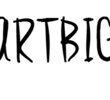 #HARTBIG Sticker