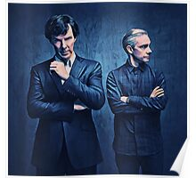 Sherlock and John Poster