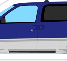 2002 Nissan Quest - Blue/Silver Sticker