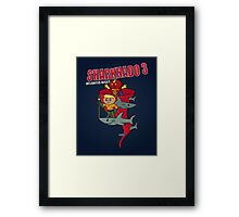 Sharknado 3: Atlantis Rises Framed Print