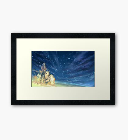 Ace and Marco One Piece Framed Print