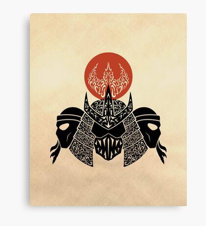 Foot Clan Canvas Print