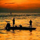 FISHING AT SUNRISE by TomBaumker