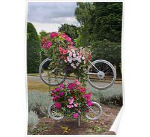 Bicycles made for FOUR Poster