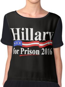 Hillary for Prison 4 Chiffon Top