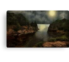 The Night of the Strawberry Moon Canvas Print