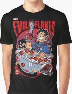 EVIL FLAKES Graphic T-Shirt