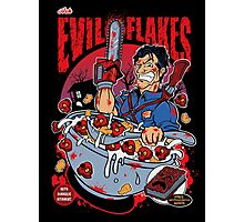 EVIL FLAKES Photographic Print