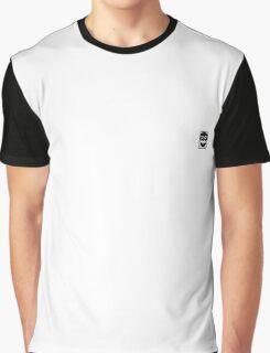 Fsociety Logo reversed (white background) Graphic T-Shirt