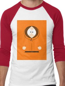 Kenny Minimalistic Men's Baseball ¾ T-Shirt