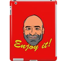 Enjoy it! with Brody Stevens iPad Case/Skin