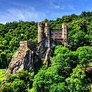 Burg Rheinstein by Tom Gomez