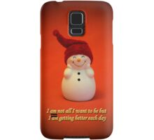 I am getting better each day :-)  Samsung Galaxy Case/Skin