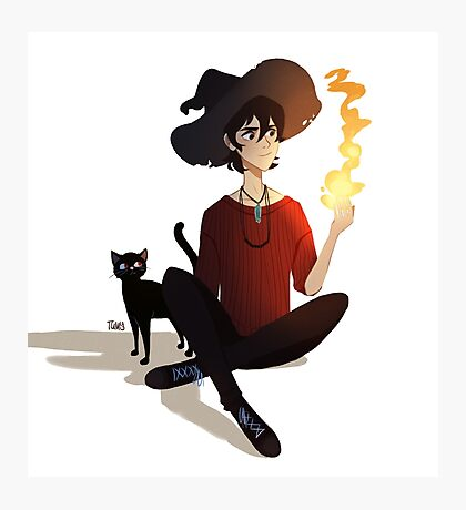 Witch Au Keith Photographic Print