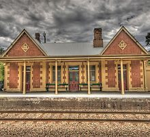 Rydal Train Station by Peter Hocking