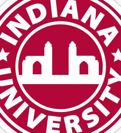 Indiana University Starbucks Sticker