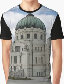 Charles Borromeo Church, Vienna Austria Graphic T-Shirt