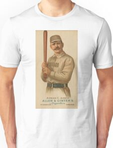 "Adrian ""Cap"" Anson - Chicago White Stockings - Vintage Baseball Card Unisex T-Shirt"