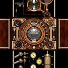 Stylish Steampunk Vintage Camera (TLR) No.2 by Steve Crompton