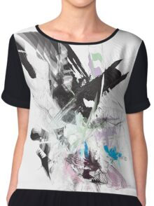 EXQUISITE CORPSE Chiffon Top