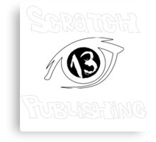 Scratch 13 Publishing Logo V2 Canvas Print
