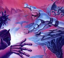 Street Fighter 2010 Sticker