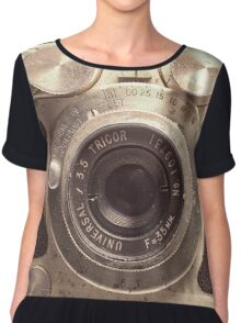 Universal Mercury II Camera - 3 Chiffon Top