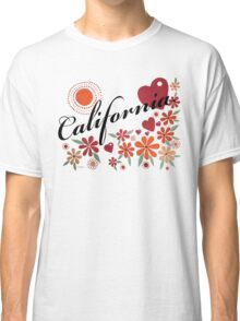 CALIFORNIA LOVE - CALIFORNIA HEART Classic T-Shirt