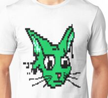 Green Cat Unisex T-Shirt