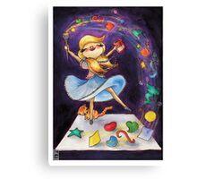 Collage Magic Canvas Print