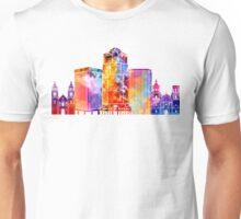 Tucson landmarks watercolor poster Unisex T-Shirt