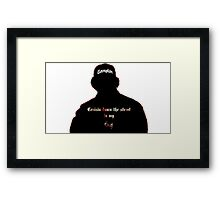 RAP / HIP-HOP: Eazy E Framed Print