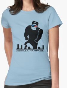 Gorilla Rampage Womens Fitted T-Shirt