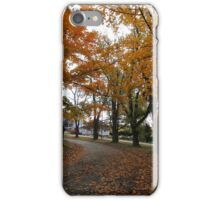 Autumn at Stark iPhone Case/Skin